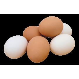 Яйцо куриное деревенское десяток.
